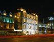 楼体0057,楼体,霓虹灯设计,宾馆