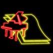 音乐0019,音乐,霓虹灯设计,