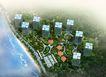 建筑效果图40231,建筑效果图4,建筑效果图,海边 高层 建筑 鸟瞰图