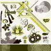 元素0019,元素,欧美花纹元素,设计元素