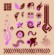 元素0024,元素,欧美花纹元素,涂雅