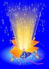 其他0010,其他,欧美花纹元素,礼盒 彩光 星光