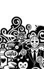 其他0011,其他,欧美花纹元素,面罩 装饰纹理
