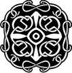 凯尔特装饰品0250,凯尔特装饰品,欧美花纹元素,