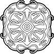凯尔特装饰品0252,凯尔特装饰品,欧美花纹元素,