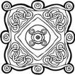 凯尔特装饰品0267,凯尔特装饰品,欧美花纹元素,