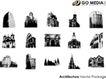 各类图案0001,各类图案,欧美花纹元素,高楼 建筑风格