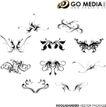 各类图案0009,各类图案,欧美花纹元素,对称图纹