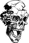 怪物骷髅0046,怪物骷髅,欧美花纹元素,
