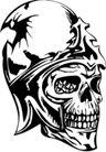 怪物骷髅0047,怪物骷髅,欧美花纹元素,
