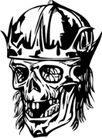 怪物骷髅0048,怪物骷髅,欧美花纹元素,