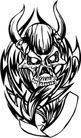 怪物骷髅0052,怪物骷髅,欧美花纹元素,