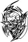 怪物骷髅0054,怪物骷髅,欧美花纹元素,