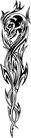怪物骷髅0061,怪物骷髅,欧美花纹元素,