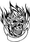 怪物骷髅0065,怪物骷髅,欧美花纹元素,