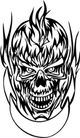 怪物骷髅0067,怪物骷髅,欧美花纹元素,头骨