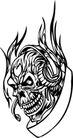 怪物骷髅0071,怪物骷髅,欧美花纹元素,
