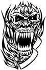 怪物骷髅0076,怪物骷髅,欧美花纹元素,