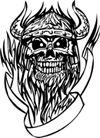 怪物骷髅0079,怪物骷髅,欧美花纹元素,