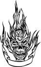 怪物骷髅0081,怪物骷髅,欧美花纹元素,