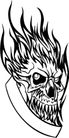 怪物骷髅0083,怪物骷髅,欧美花纹元素,