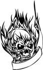 怪物骷髅0088,怪物骷髅,欧美花纹元素,