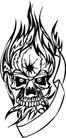 怪物骷髅0089,怪物骷髅,欧美花纹元素,