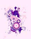 抽象0016,抽象,欧美花纹元素,时尚圆环