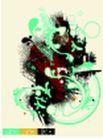 抽象0018,抽象,欧美花纹元素,