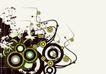 抽象0019,抽象,欧美花纹元素,圆形 花纹 非主流 时尚 几何图案