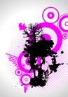 抽象0020,抽象,欧美花纹元素,抽象画