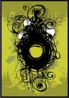 抽象0039,抽象,欧美花纹元素,