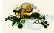 抽象0052,抽象,欧美花纹元素,圆环
