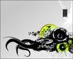 抽象0055,抽象,欧美花纹元素,时尚装饰图