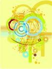 抽象0056,抽象,欧美花纹元素,彩绘