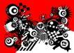 抽象0063,抽象,欧美花纹元素,