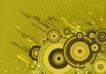 抽象0064,抽象,欧美花纹元素,抽象画