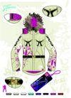 服装0011,服装,欧美花纹元素,秋装 吊饰