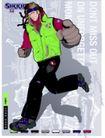 服装0033,服装,欧美花纹元素,运动男子