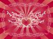红心0049,红心,欧美花纹元素,