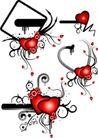 红心0056,红心,欧美花纹元素,心形图案