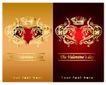 红心0062,红心,欧美花纹元素,平面设计 封面设计