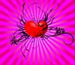 红心0064,红心,欧美花纹元素,条藤