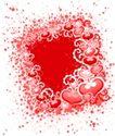 红心0074,红心,欧美花纹元素,唯美图案