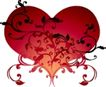 红心0077,红心,欧美花纹元素,时尚图案