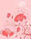 红心0079,红心,欧美花纹元素,粉色设计