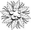 花饰1014,花饰,欧美花纹元素,