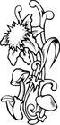花饰1017,花饰,欧美花纹元素,