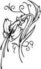 花饰1020,花饰,欧美花纹元素,
