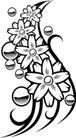 花饰1034,花饰,欧美花纹元素,